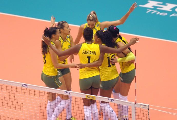 Brasil x Sérvia vôlei feminino (Foto: Divulgação/FIVB)