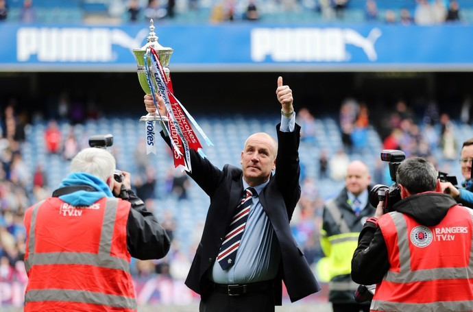 Mark Warburton Glasgow Rangers (Foto: Reuters)