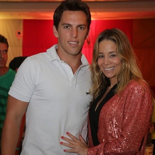 Amaury Nunes e Daniele Winits (Foto: Reprodução / Instagram)