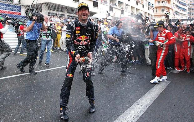 GP de Mônaco, F1, Mark Webber (Foto: Agência AP)