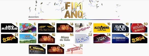 TV Sergipe exibe especial de Fim de Ano (Foto: Reprodução / Internet)