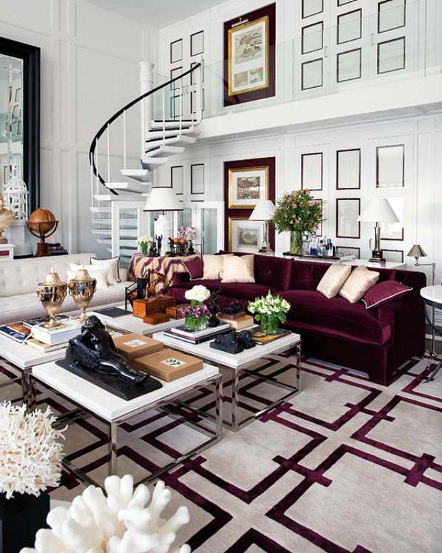 Impon ncia cl ssica d o tom em morada casa vogue for Interiores de casas clasicas