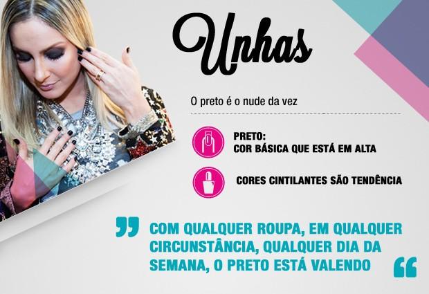 Dicas da Claudinha Unhas (Foto: The Voice Brasil/TV Globo)