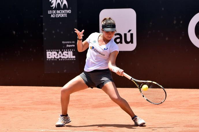 Gabriela Cé treino no Aberto do Rio (Foto: Fotojump)