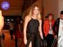 Look do dia: Letícia Birkheuer aposta em saia longa com fenda profunda