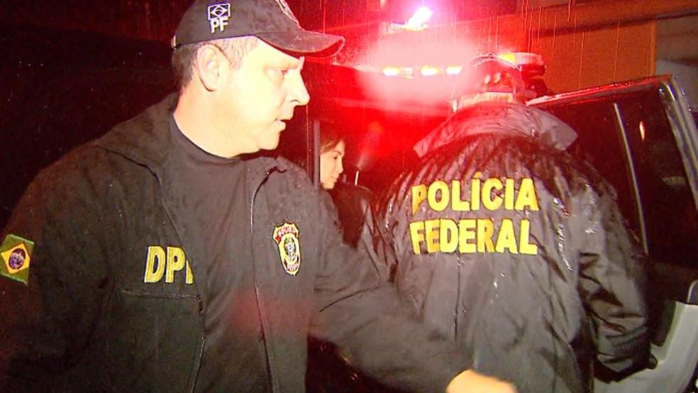 A ex-prefeita de Ribeirão Preto, Dárcy Vera, foi presa nesta sexta-feira pela Polícia Federal (Foto: Paulo Souza/EPTV)