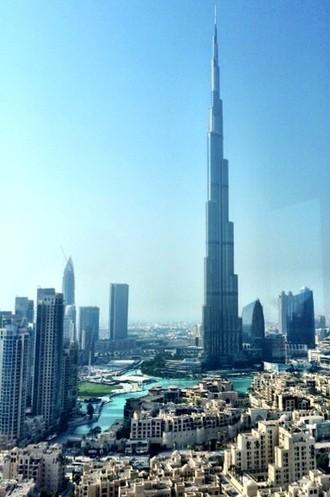 Dubai vista apartamento Caio Jr. (Foto: Arquivo Pessoal)