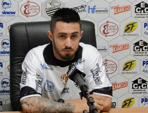 Leleco, atacante do Comercial (Foto: Gabriel Lopes / Comercial FC)