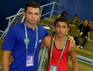 Luta olímpica do Amazonas (Foto: Emanuel Mendes Siqueira/Sejel)