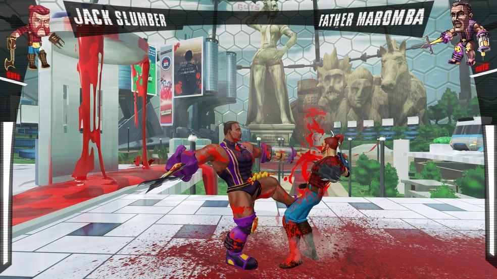 Em 'Guts', objetivo dos jogadores é desmembrar por completo seu adversário (Foto: Divulgação)
