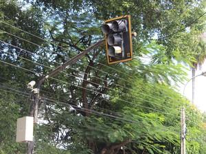 Sistema de monitoramento estaria funcionando de forma irregular (Foto: Catarina Costa/G1)