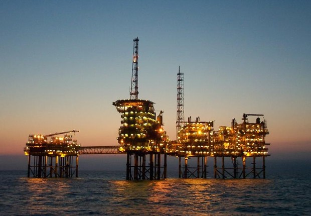 Plataforma de petróleo Exploração de petróleo (Foto: Getty Images)