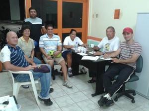 Reunião Federação Acreana de Handebol calendário 2014 (Foto: Divulgação/Fach)