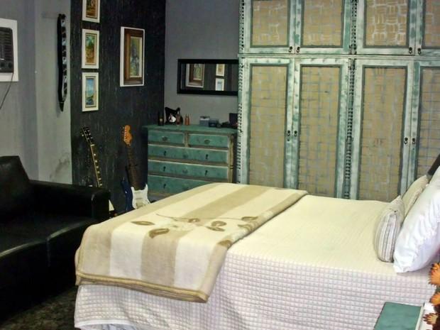 Casal decidiu transformar o próprio quarto em uma cafeteria. (Foto: Michele Miranda/ Arquivo pessoal)