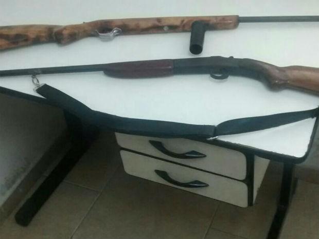 arma divinópolis (Foto: PM/Divulgação)