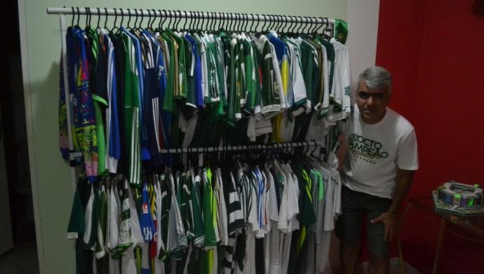Periquito Mogi Palmeiras coleção (Foto: Cairo Barros)