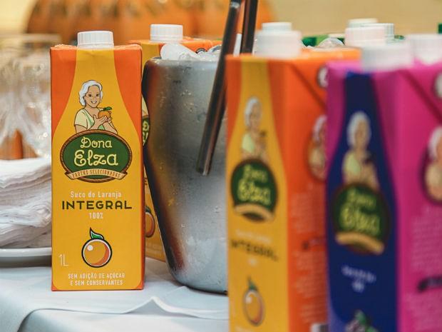 Uma das opções do mercado que une praticidade e qualidade é o suco Dona Elza (Foto: Divulgação)