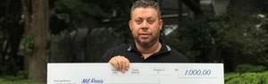 Compra de CADs da Zona Azul pode render R$ 40 mil em prêmio