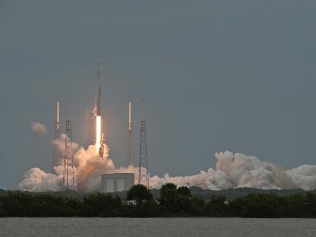 Essa é a terceira missão de carregamento da SpaceX para a Nasa (Foto: SpaceX/Divulgação)