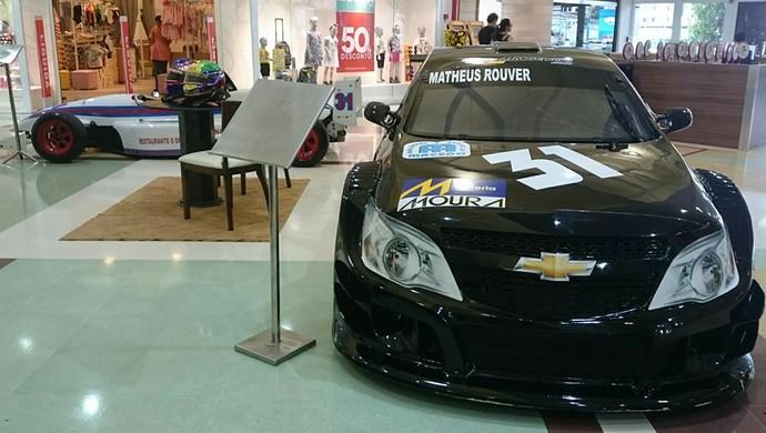 Carro da Stock Car Turismo pilotado por Matheus Rouver (Foto: Osmar Rios/GloboEsporte.com)