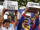 Maduro diz que reuniu 13 milhões de assinaturas contra decreto de Obama