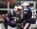 """Em dia de """"mortal"""" de Brady, jogador obscuro leva Patriots à final da AFC"""