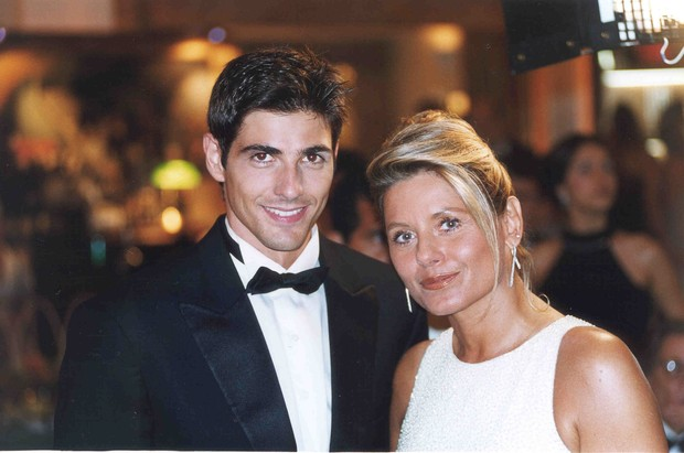"""Reynaldo Gianecchini e Vera Fischer em """"Laços de Família"""" (Foto: TV Globo)"""