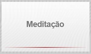 Entrevista - meditação (Foto: G1)