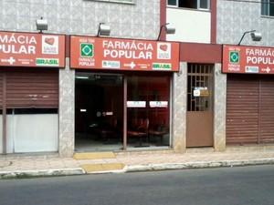 Farmácia Popular (Foto: Prefeitura Muriaé/Divulgação)