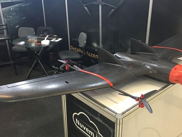 Drone Batmap Híbrido. (Foto: G1)