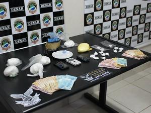 Tráfico de drogas /Caminhoneiros (Foto: Mirian Machado/ G1 MS)