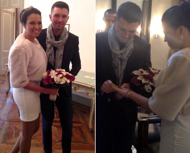 Ex-BBB Ariadna está casada há pouco mais de um ano (Foto: Arquivo pessoal)