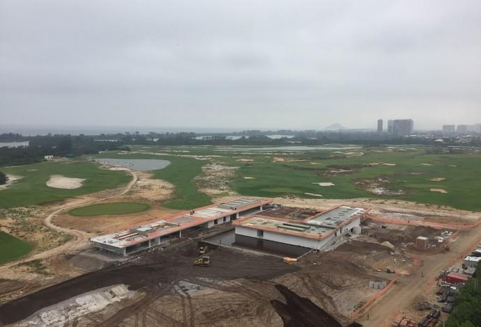 Campo olímpico de golfe (Foto: Thales Soares)