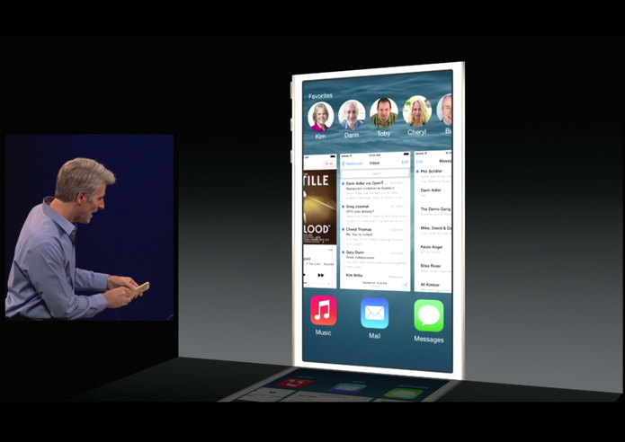 iOS 8 está mais intuitivo; cheio de pequenas novidades (Foto: Reprodução/Apple)