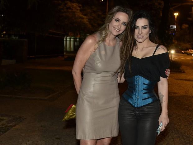 Piny Montoro e Cleo Pires em festa na Zona Sul do Rio (Foto: Roberto Teixeira/ EGO)