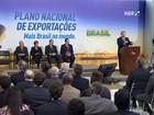 Governo anuncia Plano Nacional de Exportações