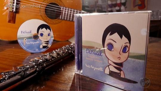 Cantora de Campinas (SP) grava CD infantil em homenagem ao filho