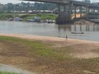 Com seca, Rio Juruá atinge menor cota já registrada em Cruzeiro do Sul