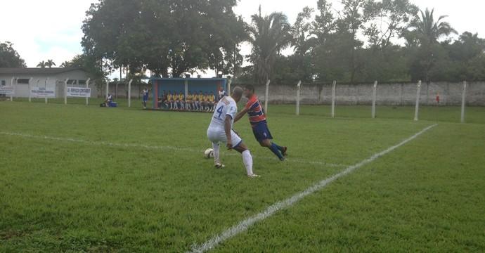 Tocantins de Miracema enfrenta o Palmas no estádio Castanheirão  (Foto: Vilma Nascimento/GloboEsporte.com)