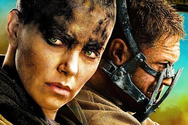 Charlize Theron e Tom Hardy em imagem promocional de 'Mad Max: Estrada da Fúria' (Foto: Divulgação)