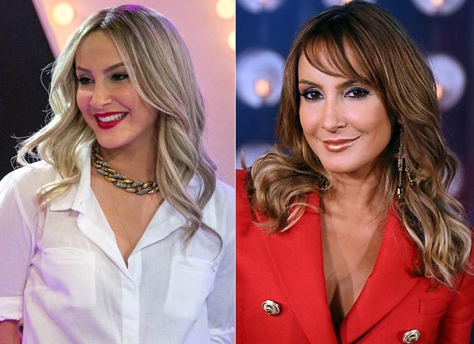 O antes e depois do cabelo de Claudia Leitte  (Foto: Isabella Pinheiro /Gshow)