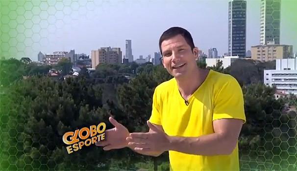 Globo Esporte  (Foto: Reprodução/ RPC TV)