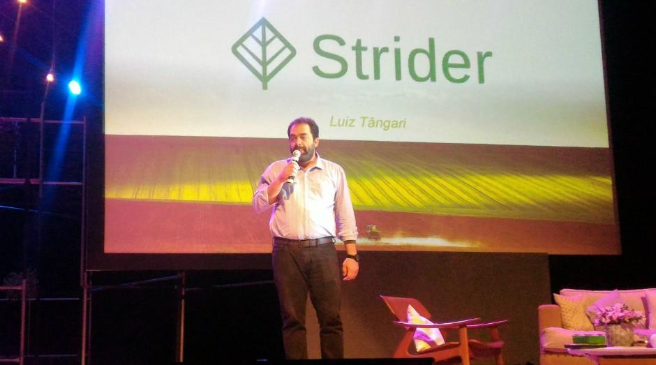 Luiz Tângari, fundador da startup Strider (Foto: Filipe Oliveira)