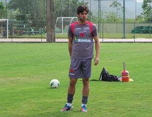 Juninho Pernambucano vasco treino (Foto: Gustavo Rotstein / Globoesporte.com)