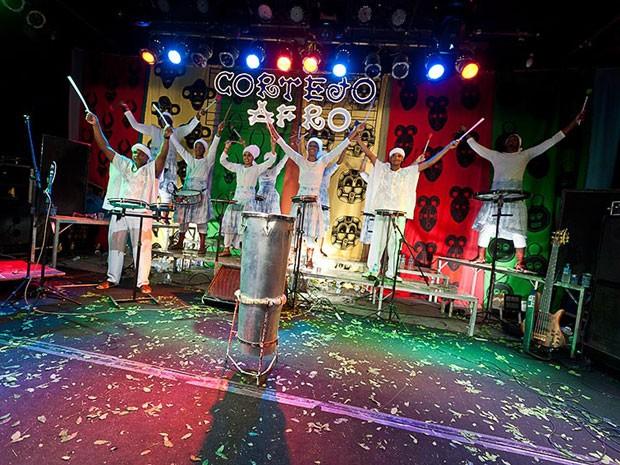 Cortejo Afro (Foto: Andrew Kemp/Divulgação)