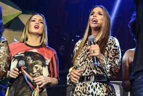 Claudia Leitte e Ivete Sangalo  (Foto:  Leo Franco / AgNews)