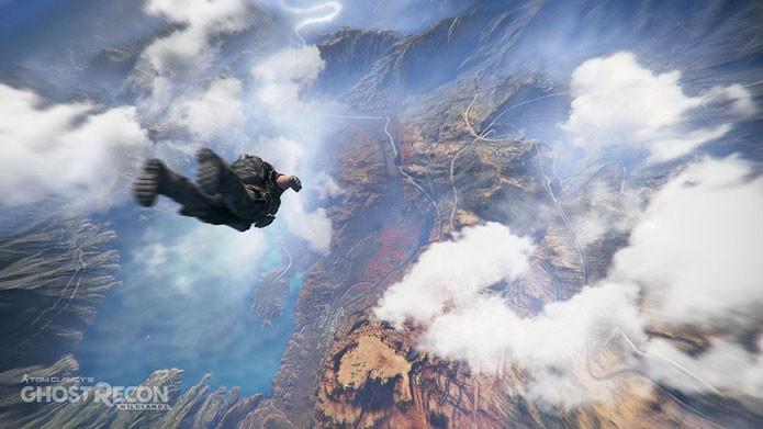 Em Ghost Recon: Wildlands você pode usar veículos, saltar de paraquedas ou pilotar um helicóptero (Foto: Divulgação/Ubisoft)