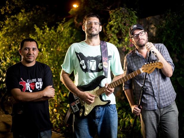 Banda conversou com o G1 sobre a influência de Renato Russo. (Foto: Jonathan Lins/G1)