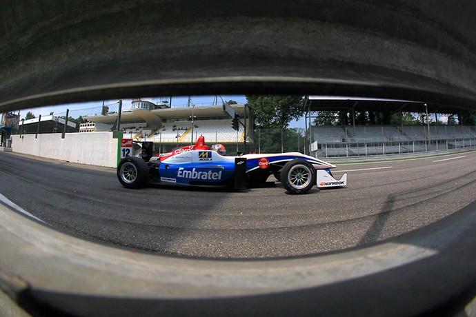 Pietro Fittipaldi em ação na etapa de Monza da Fórmula 3 europeia (Foto: Divulgação)