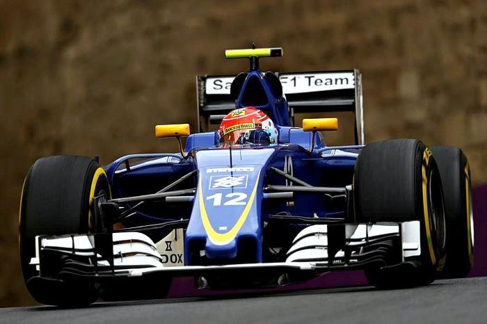 Felipe Nasr GP da Europa